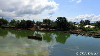 Nigeria Bodo Fischerboote