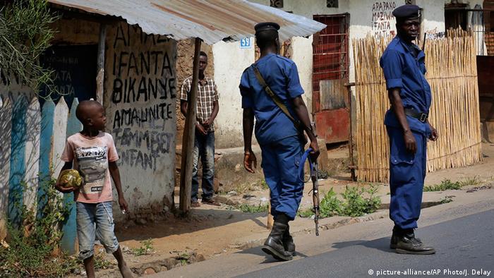 Burundi Gewalt in Bujumbura