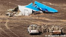 EGYPT. NOVEMBER 1, 2015. The site where a Russian aircraft crashed in Egypt s Sinai Peninsula near El Arish city. Kogalymavia Airbus A321 came down in central Sinai as it traveled from Sharm el-Sheikh to St Petersburg, killing all 217 passengers and 7 crew members on board. Maxim Grigoryev/TASS PUBLICATIONxINxGERxAUTxONLY TS011158 Egypt November 1 2015 The Site Where a Russian Aircraft Crashed in Egypt S Sinai Peninsula Near El Arish City Airbus A321 Came Down in Central Sinai As IT traveled from Sharm El Sheikh to St Petersburg Killing All 217 Passengers and 7 Crew Members ON Board Maxim Grigoryev TASS PUBLICATIONxINxGERxAUTxONLY TS011158