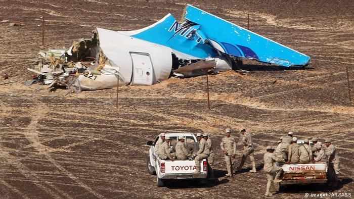 Ägypten Untersuchung nach Absturz russischer Passagiermaschine