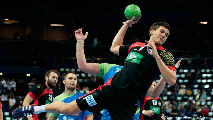 Handball Supercup in Kiel Deutschland - Slowenien