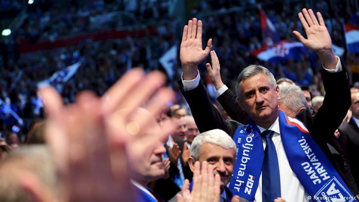 Лидер партии ХДС, занявшей первое место на парламентских выборах в Хорватии, Томислав Карамарко