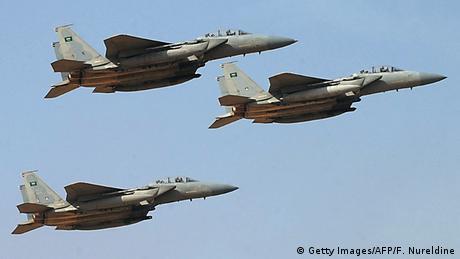 Symbolbild Kampfflugzeuge von Saudi Arabien