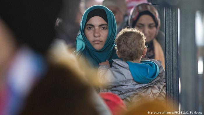Symbolbild Flüchtlinge Familiennachzug in Deutschland