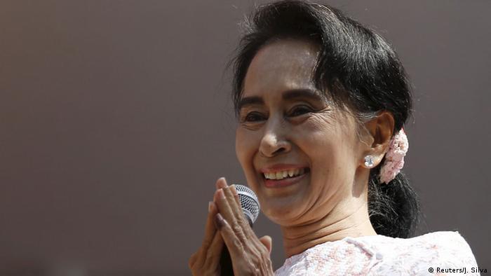 Myanmar Wahlen (Reuters/J. Silva)