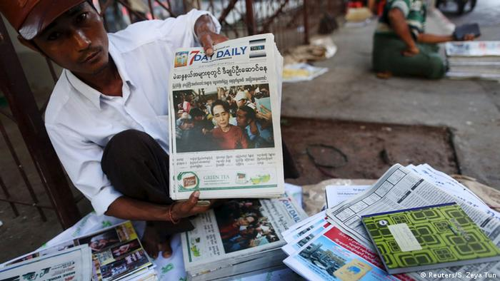 Myanmar Wahlen (Reuters/S. Zeya Tun)