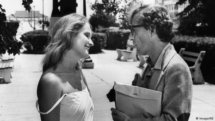 Scene from Woody Allen's Stardust Memories, Marie-Christine Barrault and Woody Allen (Imago).