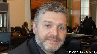 O δήμαρχος Αγιάς, Αντώνης Γκουντάρας