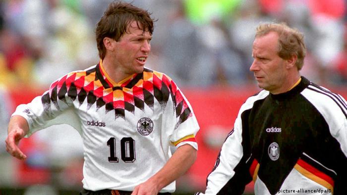 Lothar Matthäus Berti Vogts Fußballeuropameisterschaft WM 1994