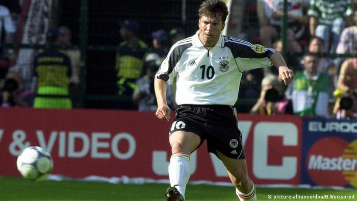 Lothar Matthäus Fußballeuropameisterschaft 2000