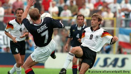 Europameisterschaft 1992 Thomas Häßler Gordon Durie