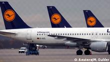 Deutschland Lufthansa Streik der Flugbegleiter