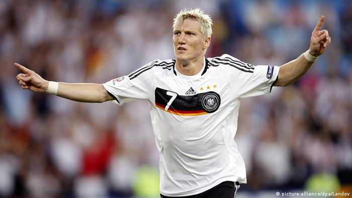 Bastian Schweinsteiger Europameisterschaft 2008 (picture-alliance/dpa/Landov)