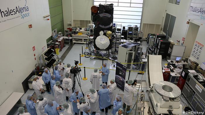 Sentinel-3A Satellite