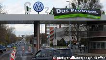 Deutschland Greenpeace Aktion Volkswagen Wolfsburg