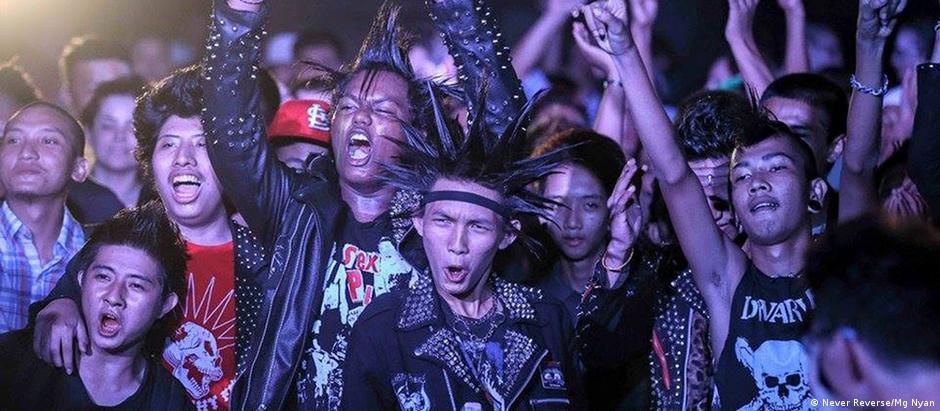 Myanmar Kunstszene Punkmusik