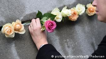 Deutschland 26. Jahrestag des Mauerfalls in Berlin