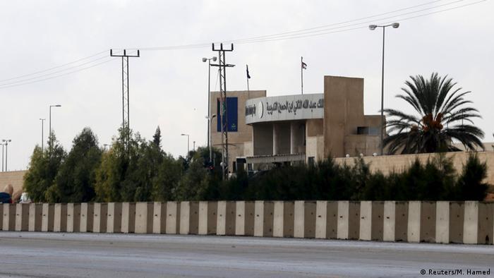 Jordanien das Ausbildungszentrum wo zwei US Soldaten erschossen wurden