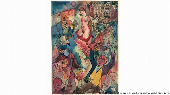 Berlin Als Kunstmetropole Der 1920er Jahre Eine Ausstellung In New York Entwickelt Sich Zum Publikumsmagneten Alle Multimedialen Inhalte Der Deutschen Welle Dw 11 11 2015