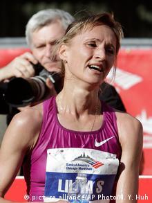 Один из фигурантов скандала - российская бегунья Лилия Шобухова