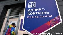 WADA empfehlt Russland Ausschluss Symbolbild Station für Dopingkontrolle in Sotschi