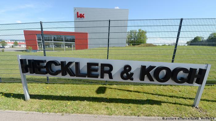 Deutschland Waffenproduzent Heckler und Koch