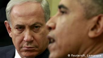 Netanyahu e Obama na Casa Branca