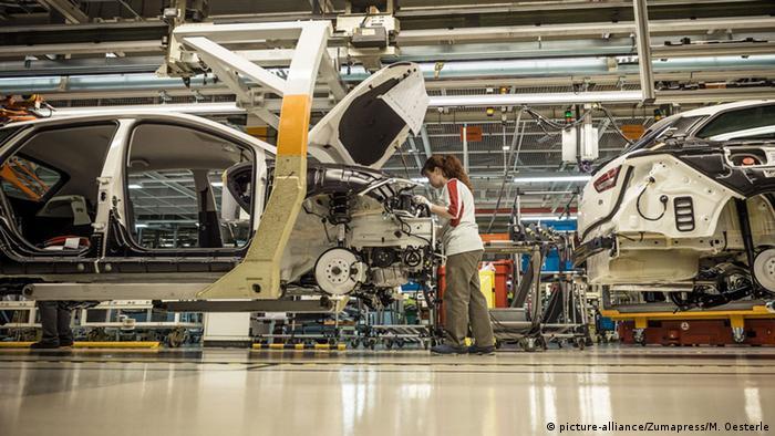 Spanien SEAT Autoherstellung in Katalonien (picture-alliance/Zumapress/M. Oesterle)