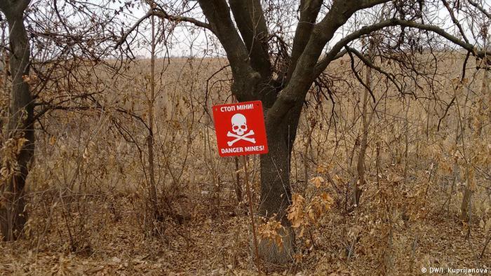 Мінні поля на Донбасі: смертоносна проблема на роки