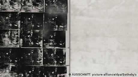 Andy Warhol Silver Car Crash (AUSSCHNITT: picture-alliance/dpa/Sotheby's)