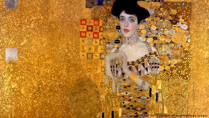 Klimt's Adele Bloch-Bauer (Fine Art Images / Heritage Images)