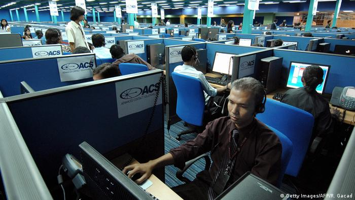 Philippinen Call-Center (Getty Images/AFP/R. Gacad)