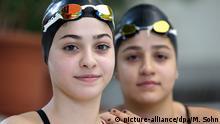 Syrien Flüchlinge Schwestern Sarah und Ysra