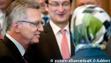 Thomas de Maiziere (links) ist als Bundesinnenminister Vorsitzender der Islamkonferenz