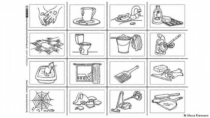 Mein Einsatz Fur Fluchtlinge Constanze Von Kitzing Illustriert Ausmalbilder Zum Deutschlernen Kultur Dw 13 11 2015