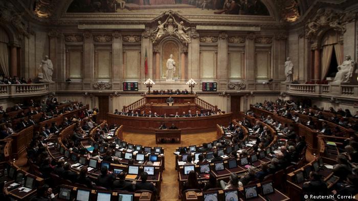 Portugal Parlament - Premierminister Pedro Passos Coelho