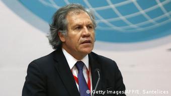 Luis Almagro, secretario general de la OEA, ha prunciado duras críticas contra Maduro.