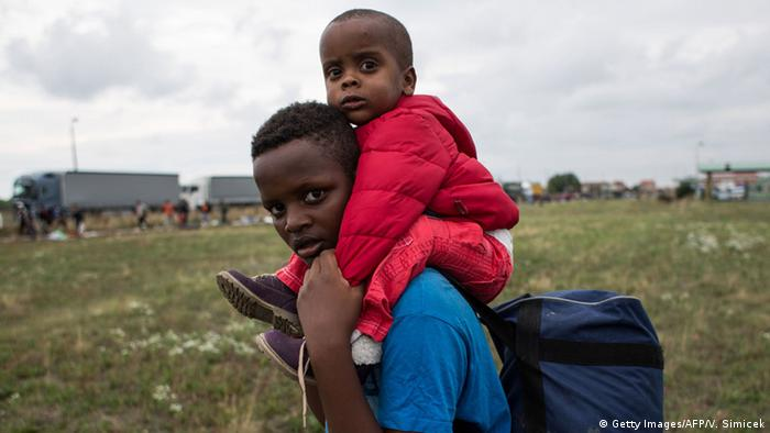 Many Africans arriving in Europe have left their countries for economic reasons