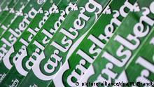 Logo Schriftzug Brauerei Carlsberg