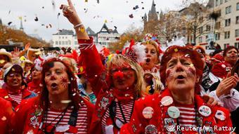Deutschland Auftakt Karneval in Köln
