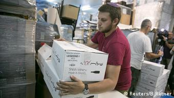 Israel Palästina Shilo Weinhandel Wein Produkte palästinensische Gebiete
