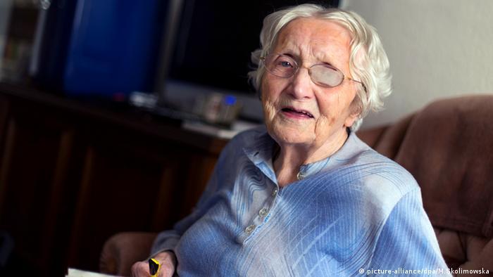 Hildegard M., de 103 anos