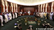 Nigeria Kabinett Muhammadu Buhari Präsident