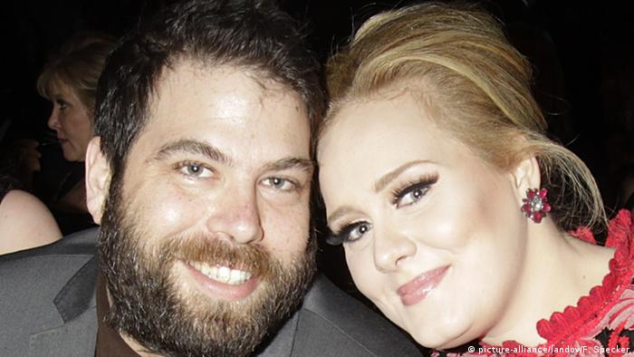 USA Simon Konecki und Sängerin Adele in Los Angeles