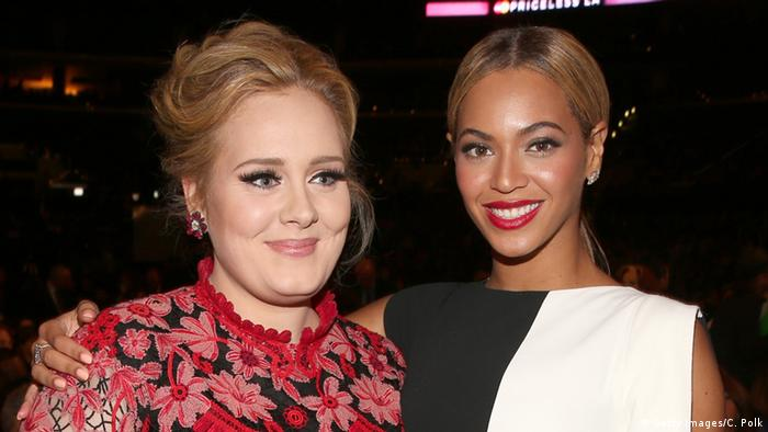 USA Adele und Beyonce in Los Angeles