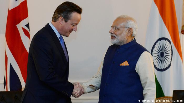 David Cameron Narendra Modi New York