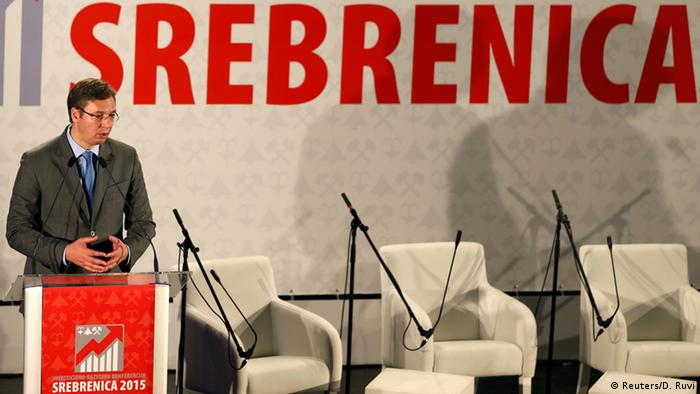 Obilježavanje 20. godišnjice genocida u Srebrenici je zasjenio napad na bivšeg premijera i aktuelnog predsjednika Srbije Aleksandra Vučića. Tačka na ovaj slučaj još uvijek nije stavljena. Skupština Republike Srbije je 30. marta 2010. usvojila Rezoluciju o Srebrenici, kojom se izražava saučešće i izvinjenje porodicama žrtava zbog toga što nije učinjeno sve da se spriječi ova tragedija.