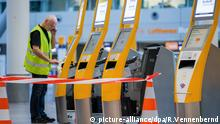Flughafen Düsseldorf Streik Flugbegleiter