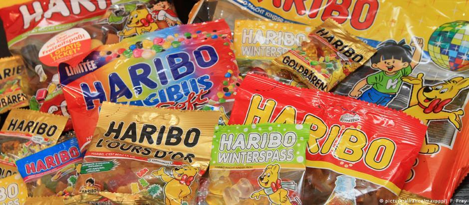 Haribo é famosa pela produção dos populares ursinhos de goma