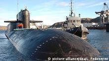 Russland Atom-U-Boot Jekaterinburg